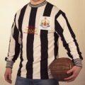 Newcastle United 40th Anniversary Retro Football Shirt