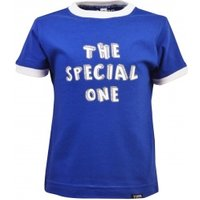 65beca6792d Kids The Special One – Royal/White Ringer | Retro Football Shirts UK ...
